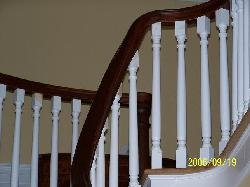 Custom handrails and balusters